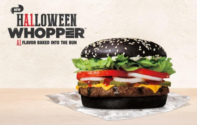 Burger King A1 Halloween Whopper