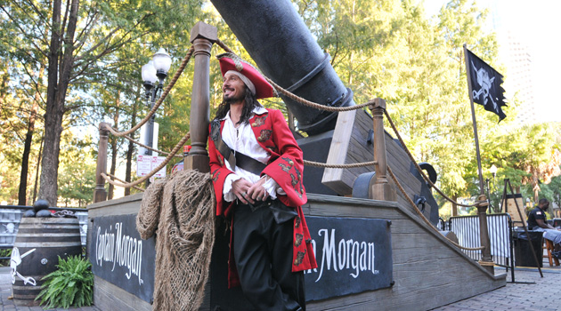 Captain Morgan Launches All-New 'Cannon Blast' Shot With A BOOM!