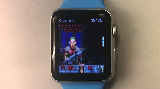 Doom on the Apple Watch