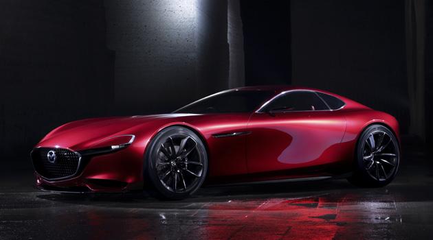 Mazda RX-VISION Concept Debuts In Tokyo