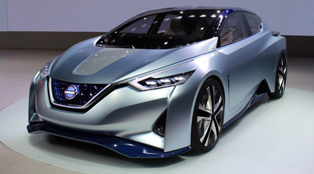Nissan IDS Concept – A Self-Driving, Electric Car