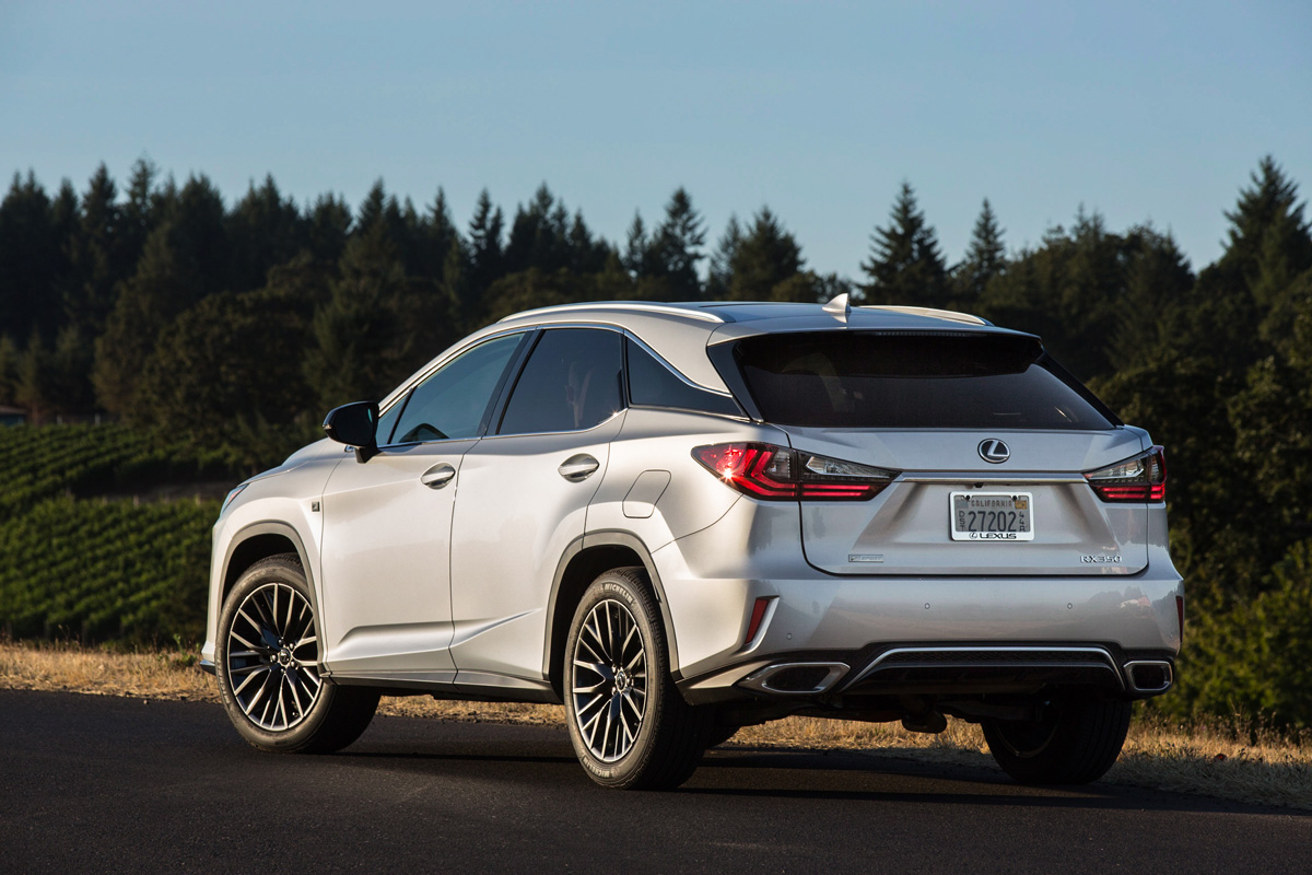 first drives 2016 lexus rx 350 rx 450h. Black Bedroom Furniture Sets. Home Design Ideas