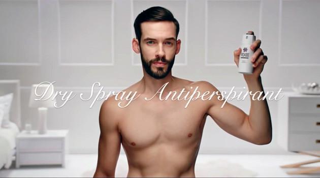 AXE Dry Spray commercial