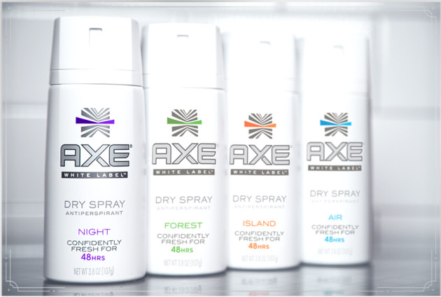 AXE White Label Dry Spray