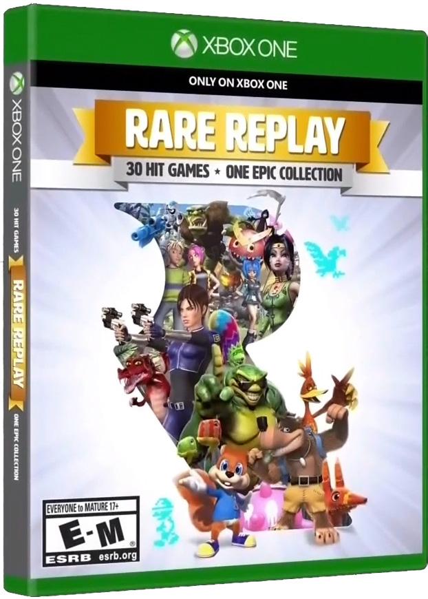 Rare Replay box cover