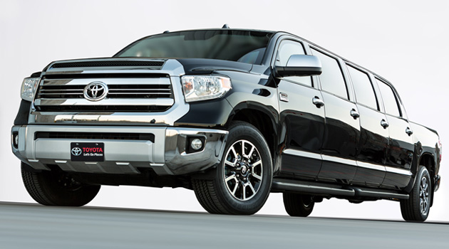 Toyota Unveils Tundra-Based Stretch Limo At SEMA