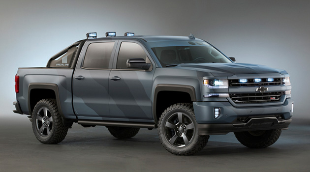 Chevrolet's Badass Silverado Special Ops Edition Truck Gets The Green Light