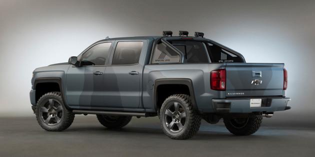 2016 Chevrolet Silverado Special Ops truck