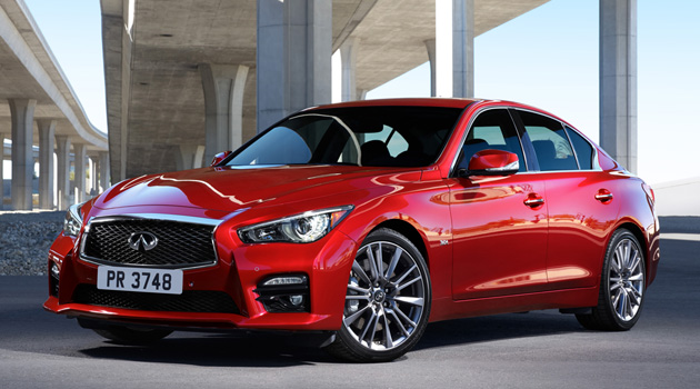 The 2016 Infiniti Q50 Brings The Heat With 400HP Twin-Turbo V6