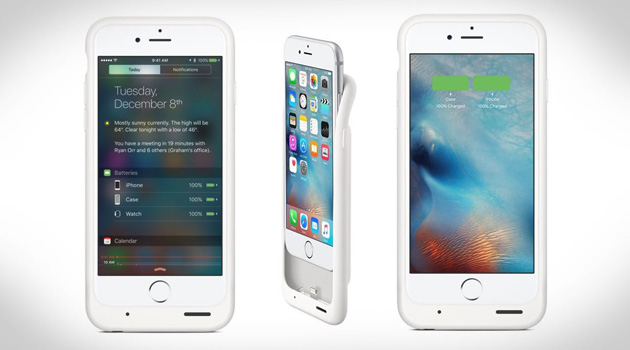 Apple Unveils Smart Battery Case For The iPhone 6 and 6S