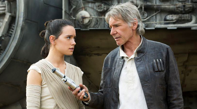 Harrison Ford Was Paid 76x More Than His 'The Force Awakens' Co-Stars