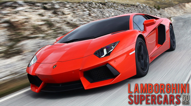 Looking Back At 50 Years Of Lamborghini Supercars