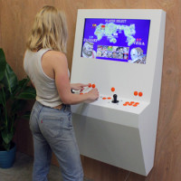 Play Hundreds Of Classic Games On The Polycade Retro Arcade