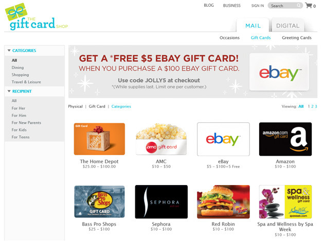 TheGiftCardShop.com