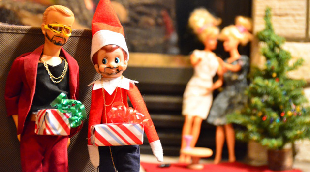20 Hilarious Photos Of The Elf On The Shelf Being Very Naughty