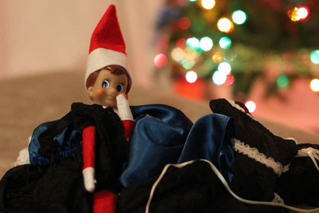 elf on the shelf dating barbie This is the story of how my bad elf on the shelf learned some even worse things from a barbie you'll also see the picture of the elf pooping on a cookie.