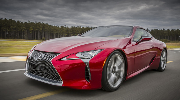Lexus Just Unveiled Their All-New Lexus LC 500, And It's A Real Stunner!