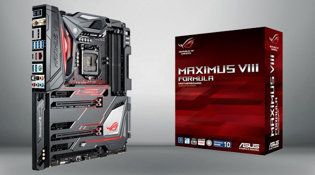 Asus Announces New Maximus VIII Motherboard