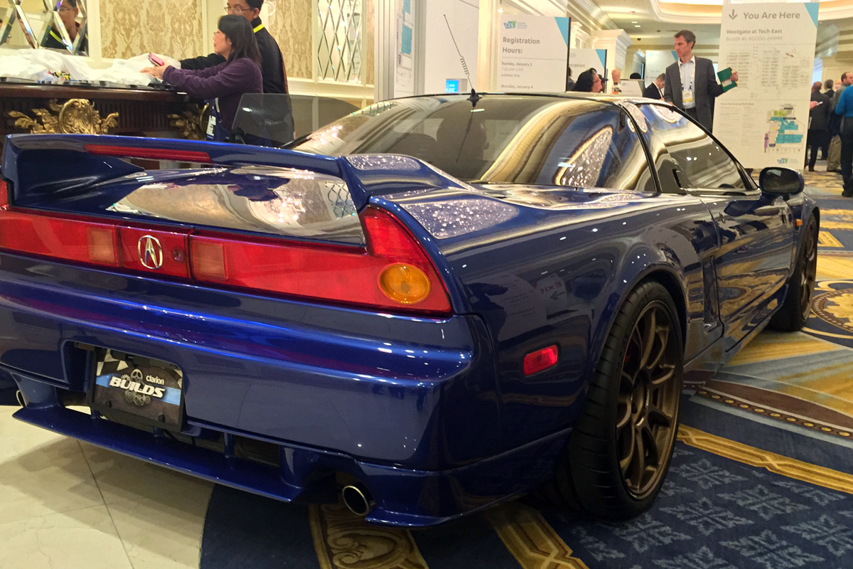 Clarion Builds - Acura NSX