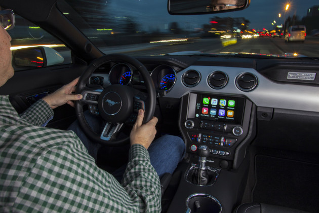 Ford SYNC 3 with Apple CarPlay