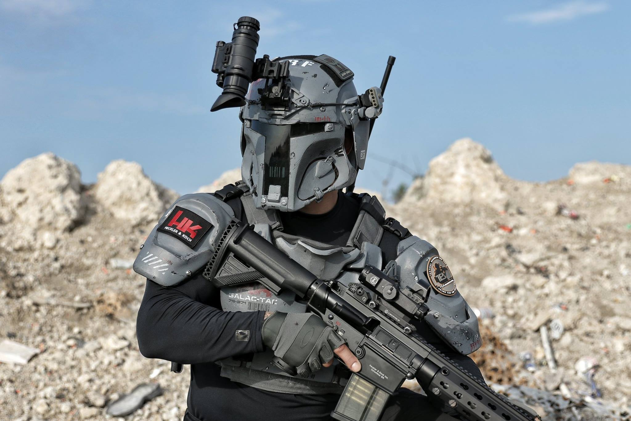 This Boba Fett Inspired Body Armor Is The Best Thing You Ll See All Day