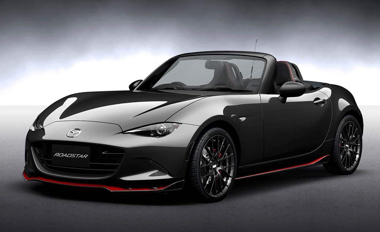mazda mx 5 roadster rs racing concept to debut at tokyo. Black Bedroom Furniture Sets. Home Design Ideas