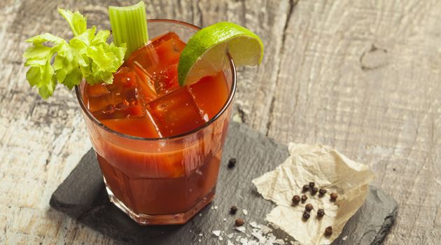We Celebrated National Bloody Mary Day With Brunch and Bloodys!