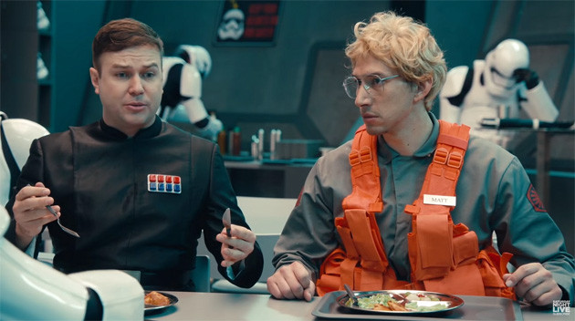 Kylo Ren gets the Undercover Boss treatment on SNL