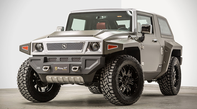 The USSV Rhino XT Is A Military-Grade SUV Built For The Streets