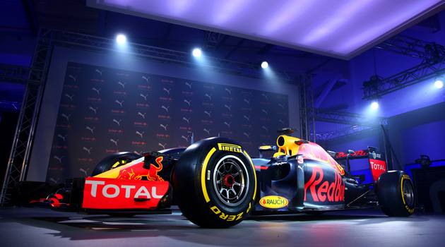 Red Bull Racing and PUMA Unveil Slick New Livery And Team Kit For 2016