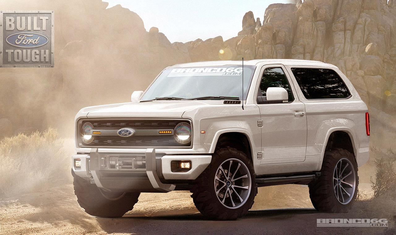 This 2020 Ford Bronco Concept Rendering Is Absolute Perfection