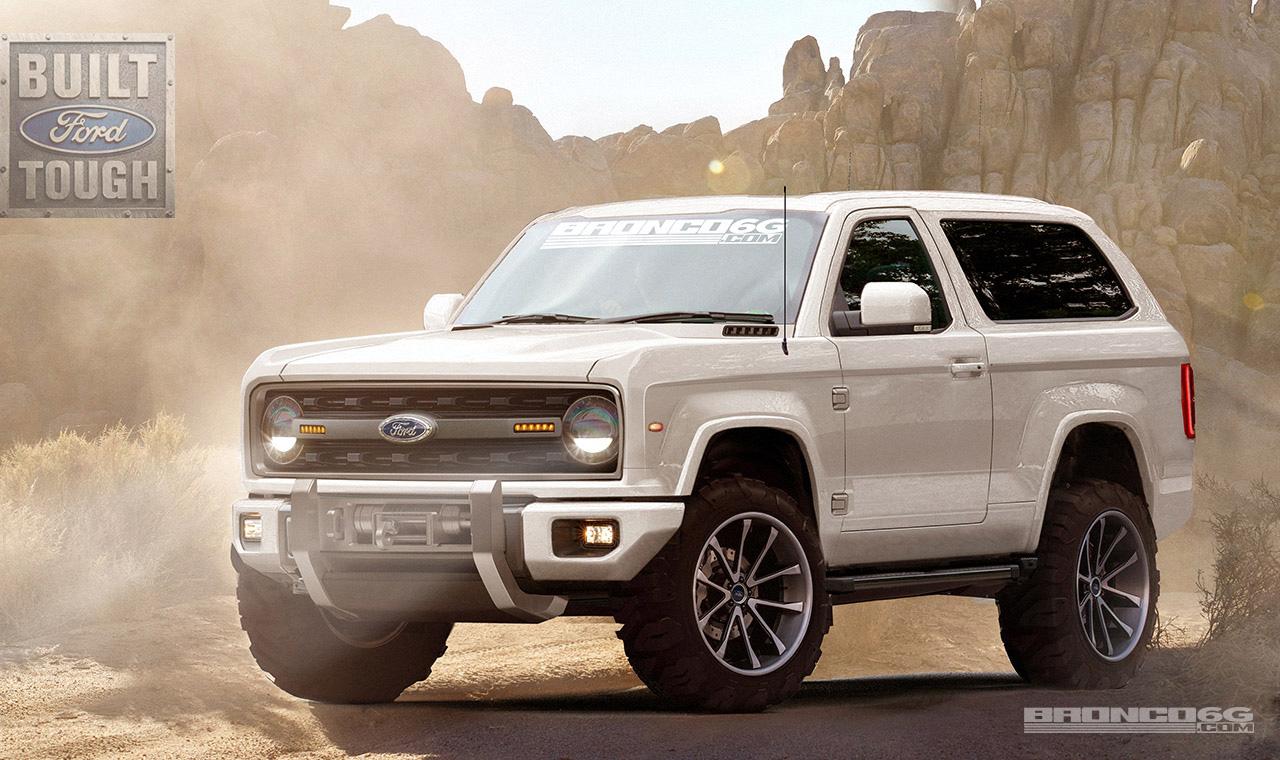 2020 Ford Bronco B6G Rendering
