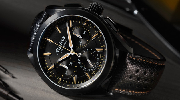 Introducing The Alpiner 4 Black Flyback Manufacture Chronograph