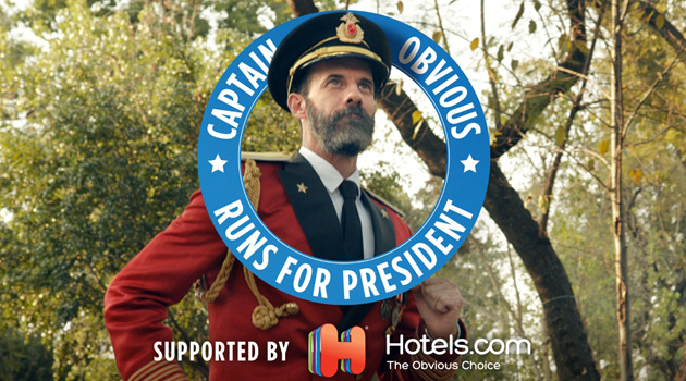 Captain Obvious Is Running For President