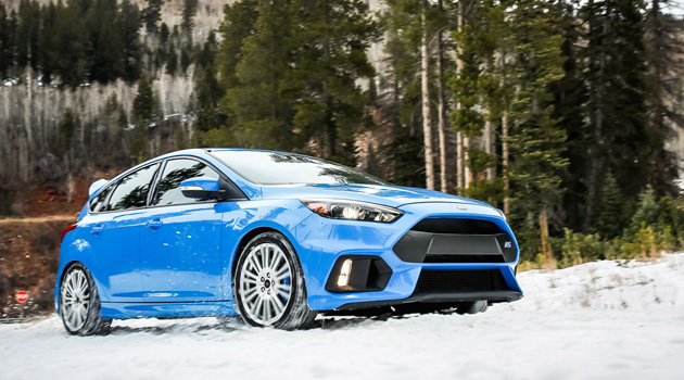 Ford Focus RS To Be Offered With Factory Winter Tire Package