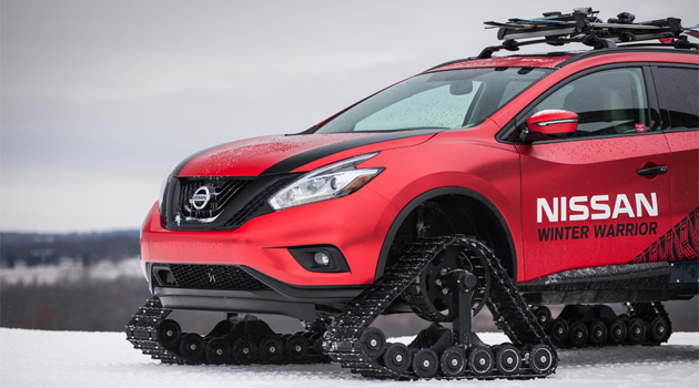 Nissan Unleashes Trio Of Winter Warrior Concepts For Chicago Auto Show