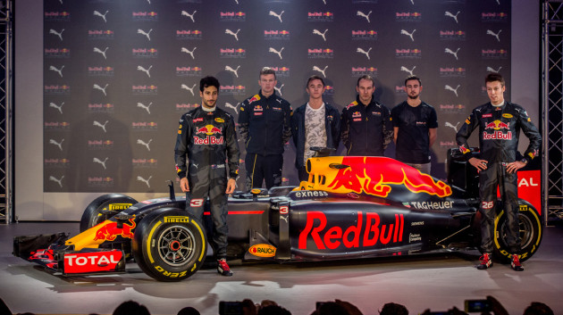 PUMA and Red Bull Racing Unveil New Livery and Team Kit
