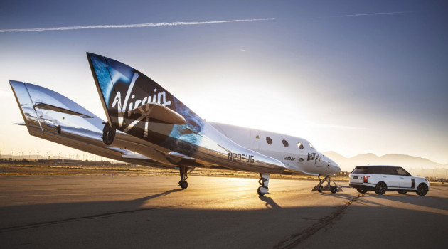 Here's Your First Look At Virgin Galactic's New SpaceShipTwo