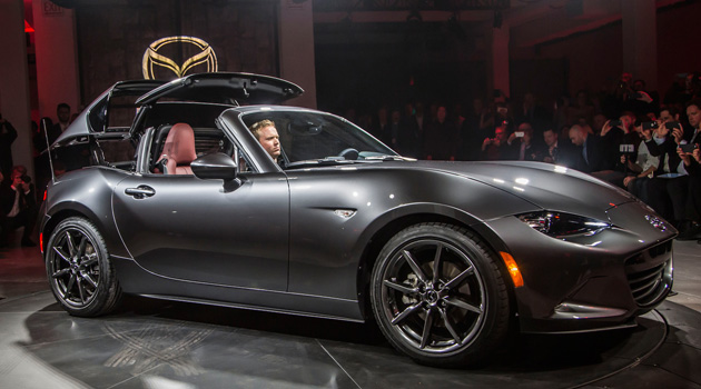 The Mazda MX-5 Miata RF Is The Hardtop Fastback You've Been Waiting For