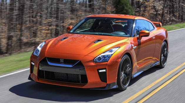 2017 Nissan GT-R Makes Its World Debut At New York Auto Show