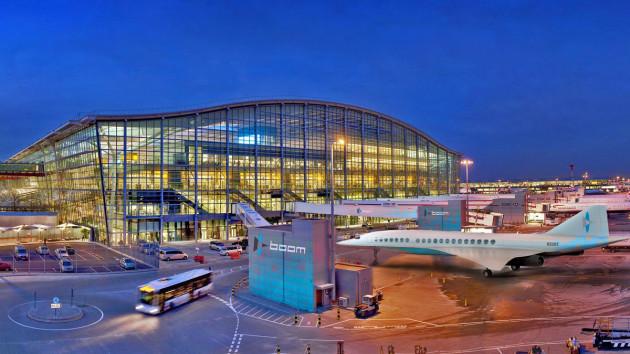 Boom - Heathrow Airport