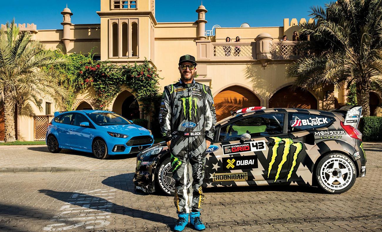 ken block makes dubai his latest drifting playground in gymkhana 8. Black Bedroom Furniture Sets. Home Design Ideas