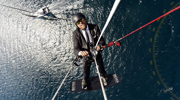 Alex Thomson Just Pulled Off One Of The Craziest Stunts I've Ever Seen