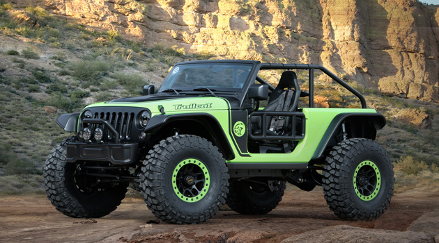 The 707 HP Jeep Trailcat Concept Is The Ultimate Off-Road Machine