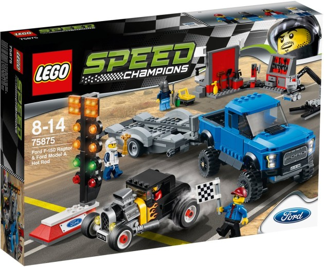 LEGO Speed Champions Ford F-150 Raptor & Ford Model A Hot Rod set