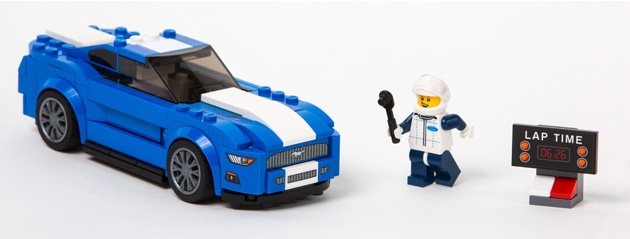 LEGO Speed Champions Mustang GT set