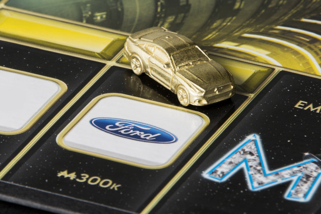 Monopoly Empire features the Ford Mustang as a game piece