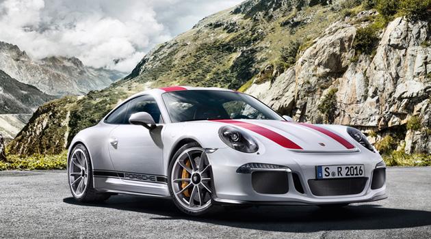 Introducing The Lightweight, Manual-Only Porsche 911 R