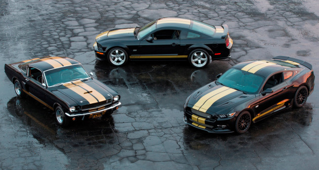 Three Generations Of The Shelby GT-H