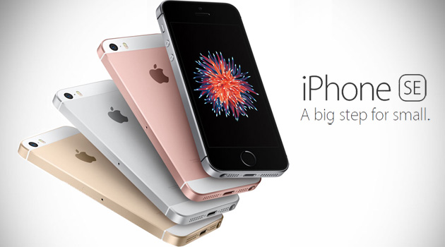 Apple Introduces Smaller 4-Inch iPhone SE